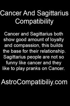 CANCER AND SAGITTARIUS LOVE MATCH http://astroligion.com/synastry.