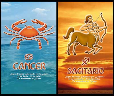 Cancer and Sagittarius Compatibility Matches and Relationships.