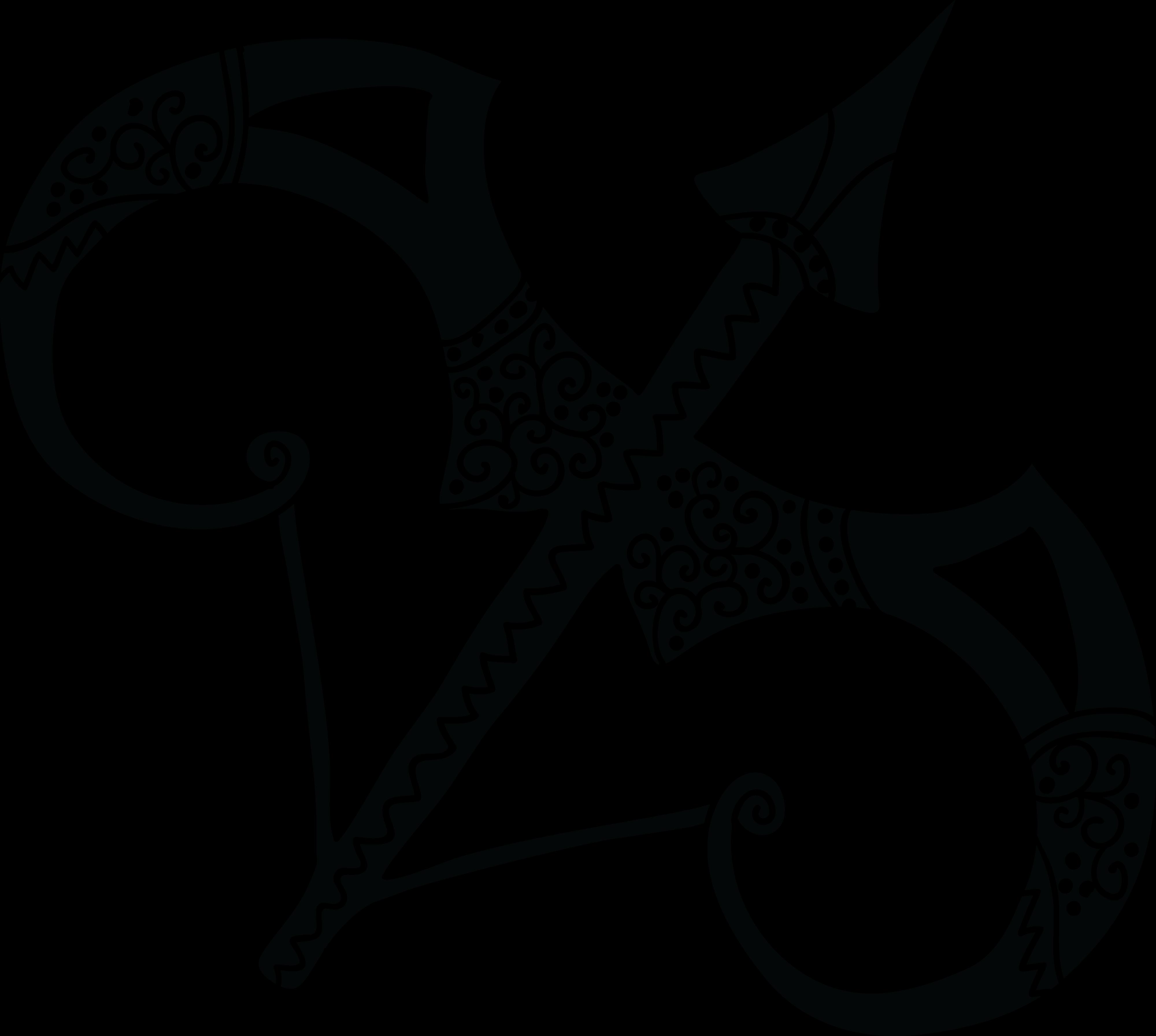 Free Clipart Of A Horoscope Astrology Zodiac Sagittarius.