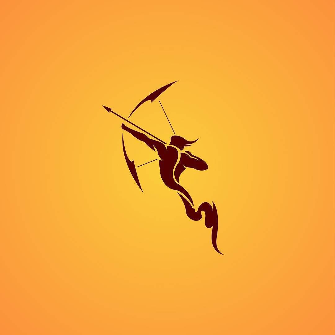 Sagittarius #illustration #graphicdesign #design #logo.