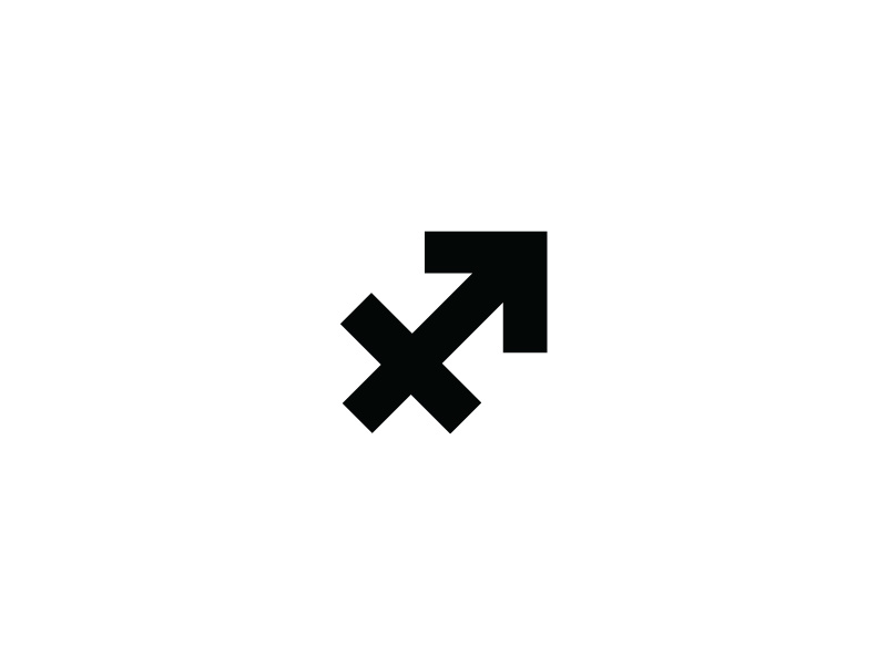 Sagittarius Symbol by INDUSTRIA® on Dribbble.