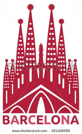 Sagrada Familia Stock Images, Royalty.