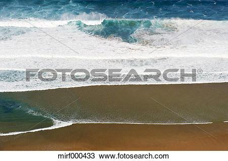 Stock Photo of Portugal, Algarve, Sagres, View of Atlantic ocean.