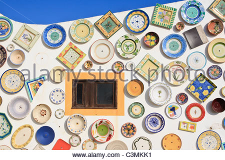 Plate Wall Portuguese Algarve Stock Photos & Plate Wall Portuguese.