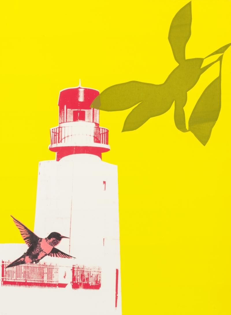 Print Club Bristol ~ lighthouse in Sagres.