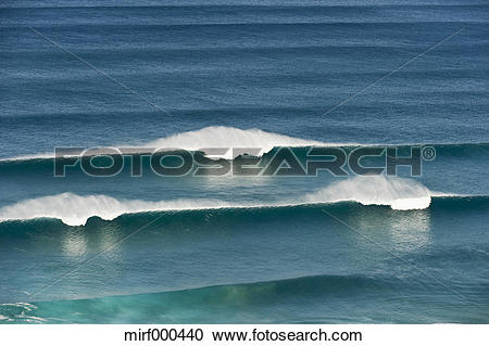 Stock Photography of Portugal, Algarve, Sagres, View of Atlantic.