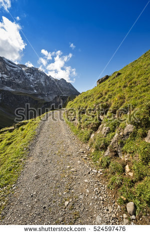 Steep Rock Slope Stock Images, Royalty.