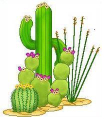 Free Saguaro Cactus Clipart.