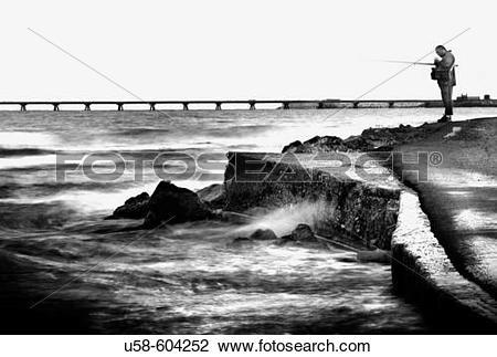 Stock Photo of Fishing. Sagunto Sagunto. Valencia province.