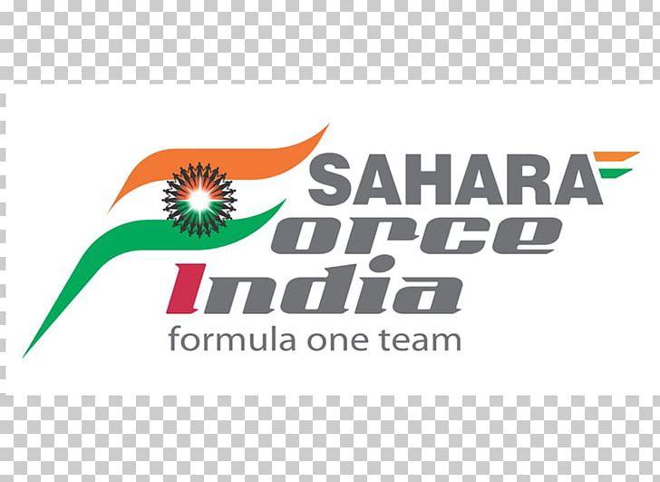 Sahara Force India F1 Team Logo Formula 1 Escudería Brand.