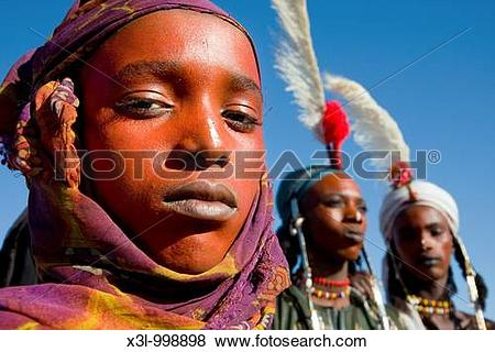 Pictures of A Wodaabe.
