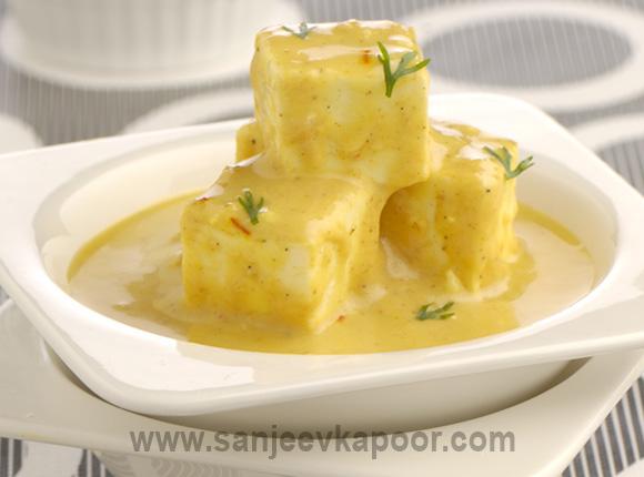 How to make Shahi Paneer, recipe by MasterChef Sanjeev Kapoor.