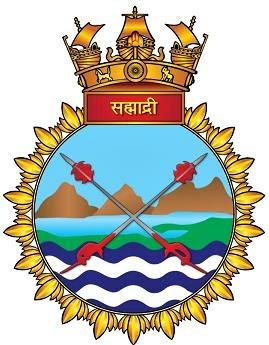 File:INS Sahyadri (F49) crest.JPG.