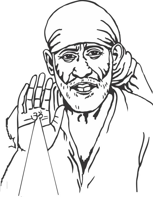 Sai baba clipart png 2 » Clipart Station.