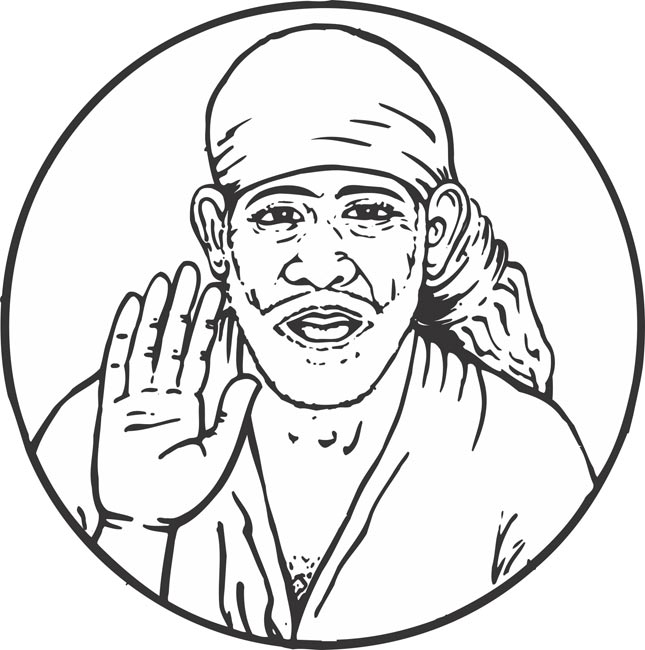 Saibaba clipart 7 » Clipart Station.