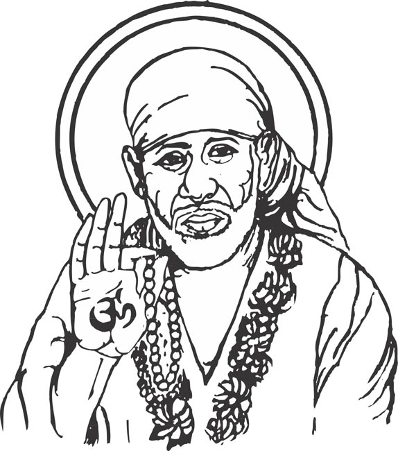 Sai baba clipart png 4 » Clipart Station.