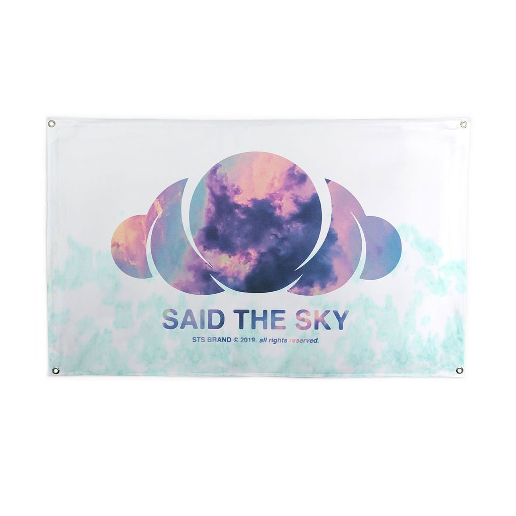 Said The Sky Enamel Pin.