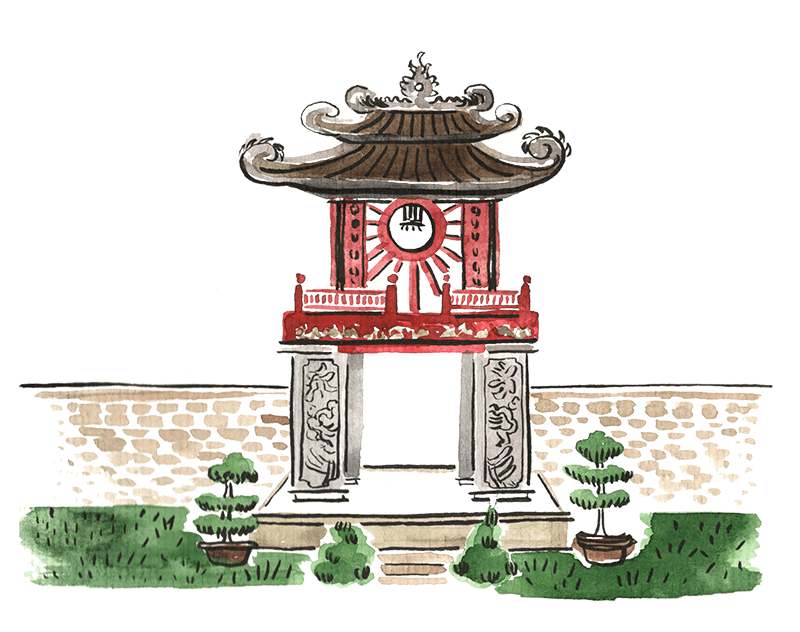 The history of The Vietnamese Kitchen.
