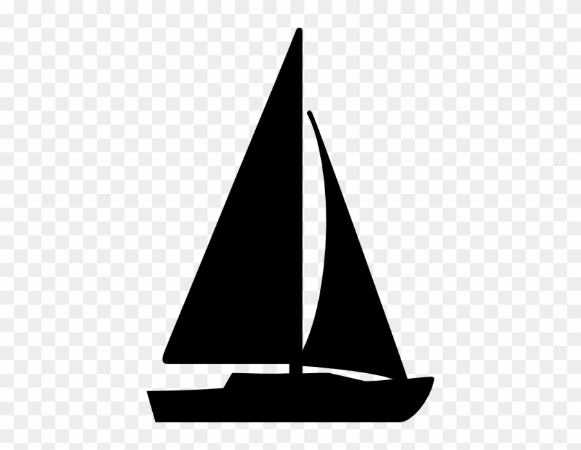 Download Free png Sail Boat Sihouettes Sailboat Silhouette.