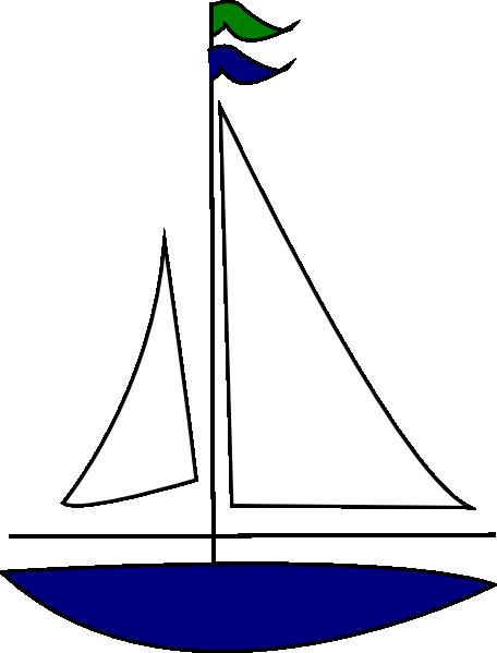 Sailing boat clipart free.