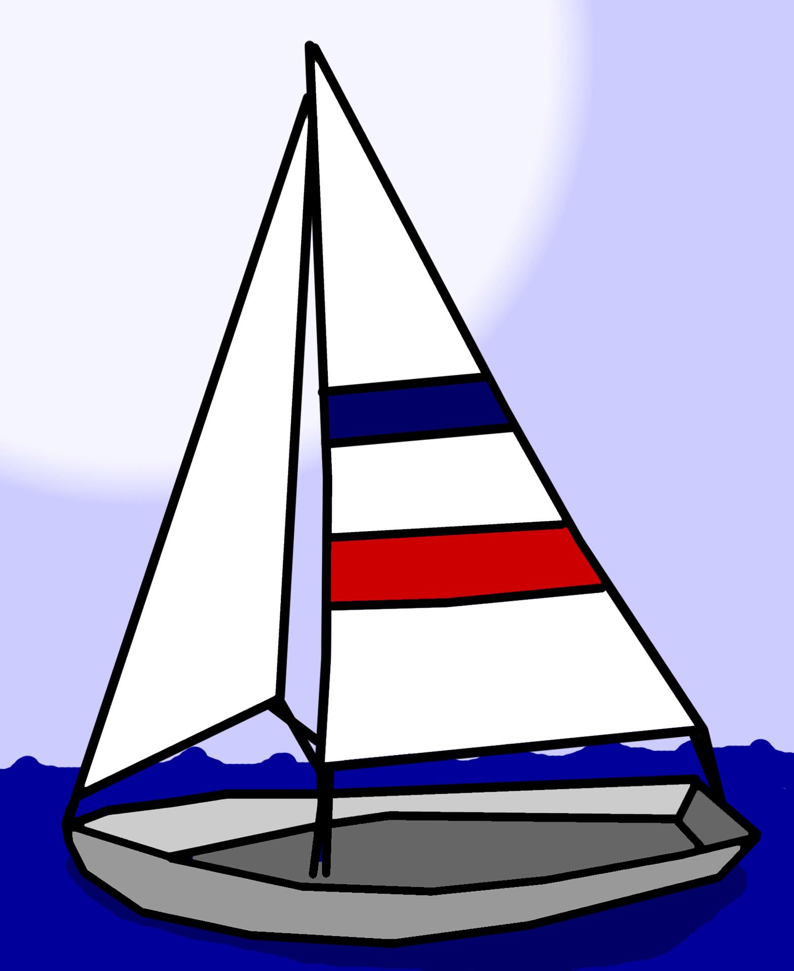 Free clipart sailing.