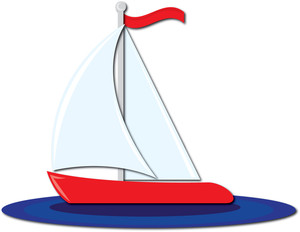 Sailboat Clip Art.