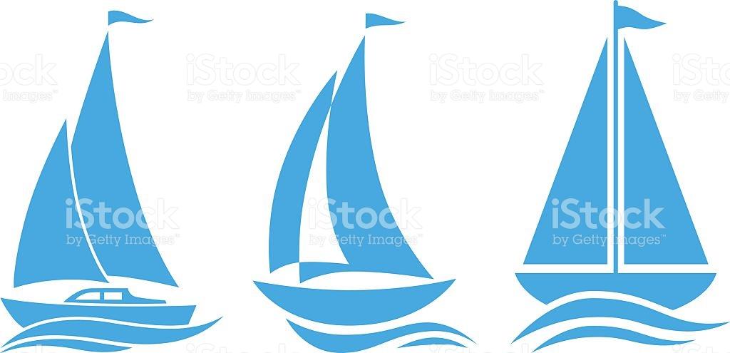 Sailboat Clip Art, Vector Images & Illustrations.