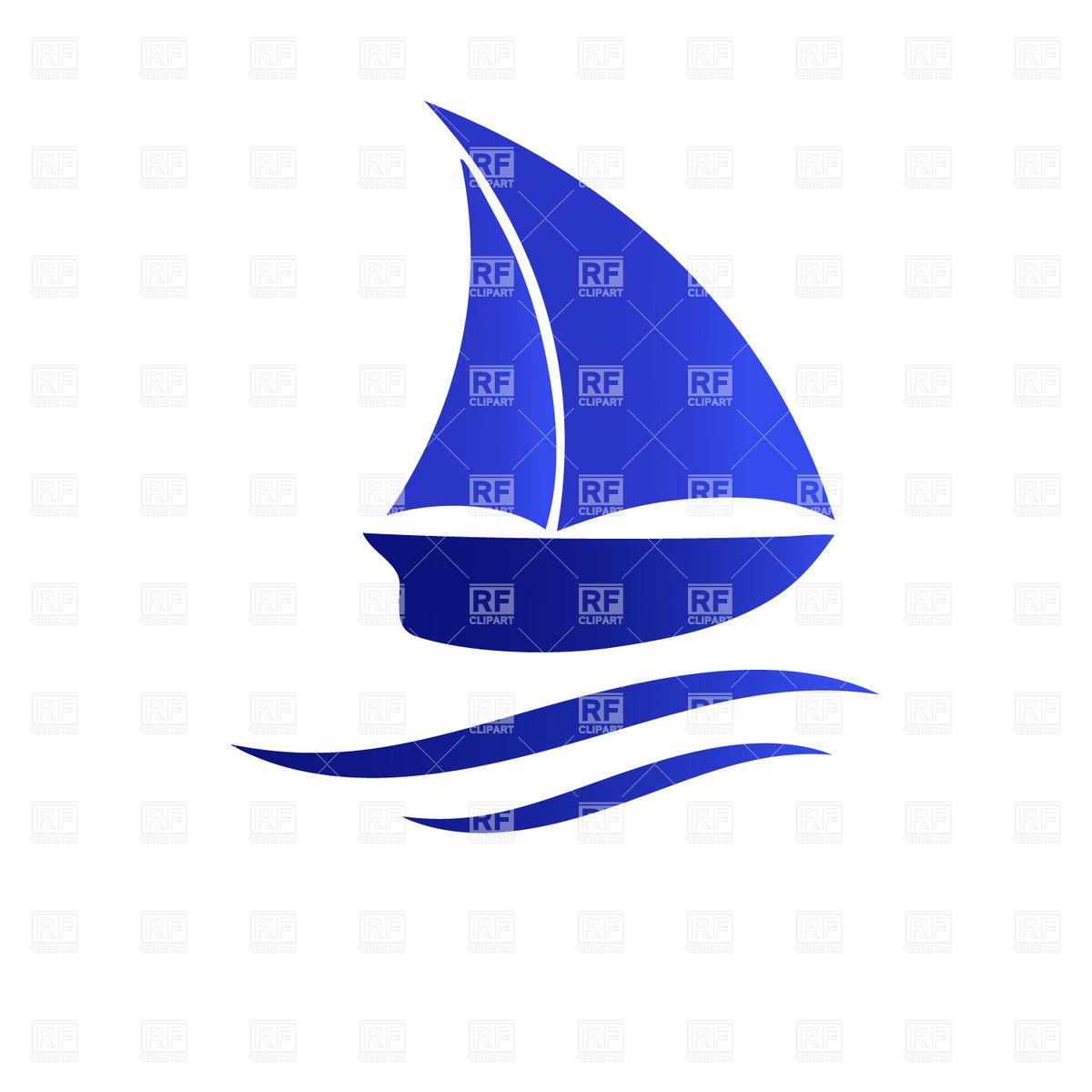 sailing ship silhouette.