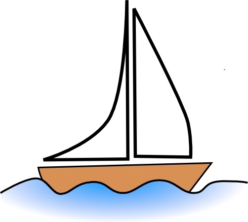 Boat clip art Free vector in Open office drawing svg ( .svg.
