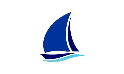 Sailboat Logo photos, royalty.