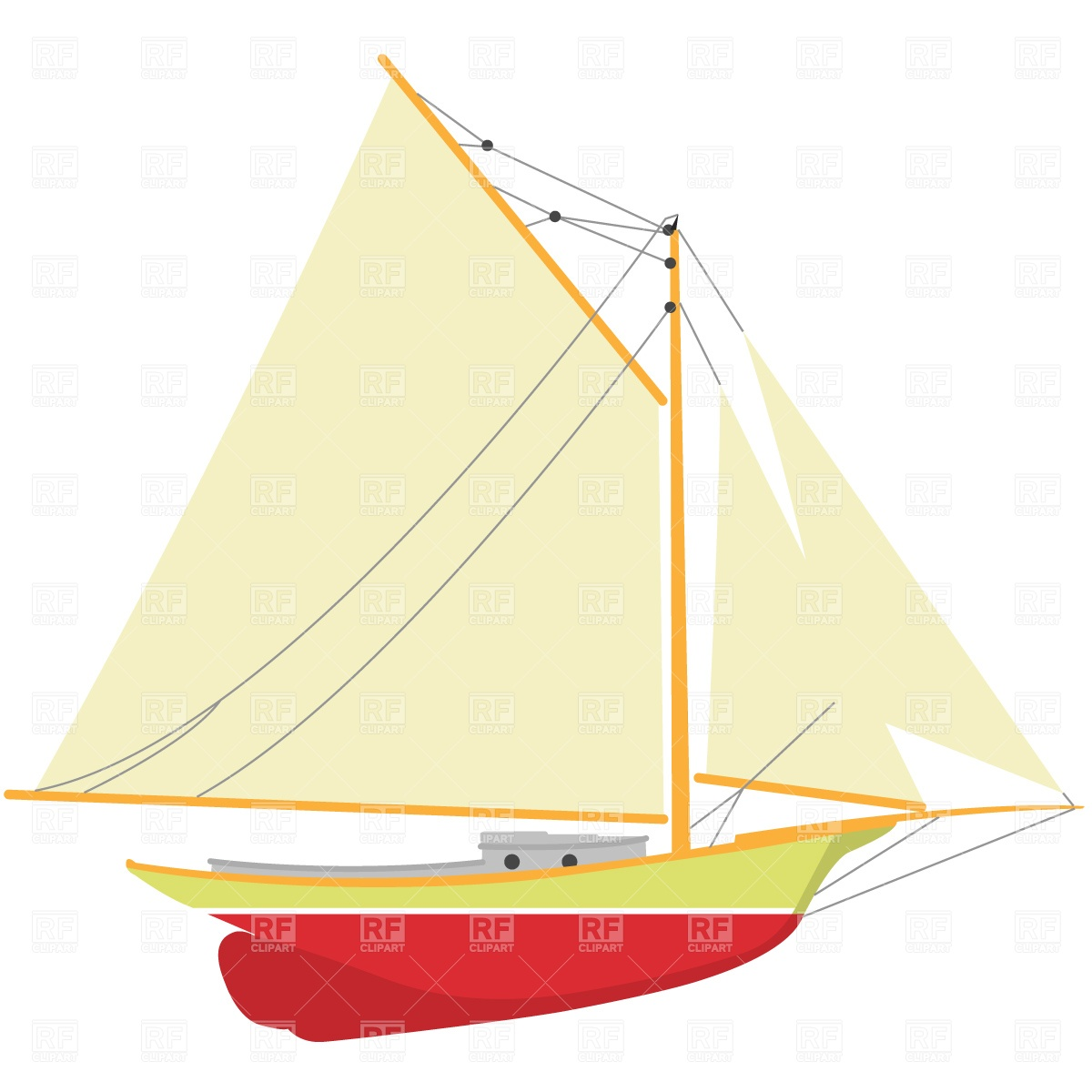 Clipart yacht free download.