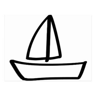Sailing Icon Postcards.