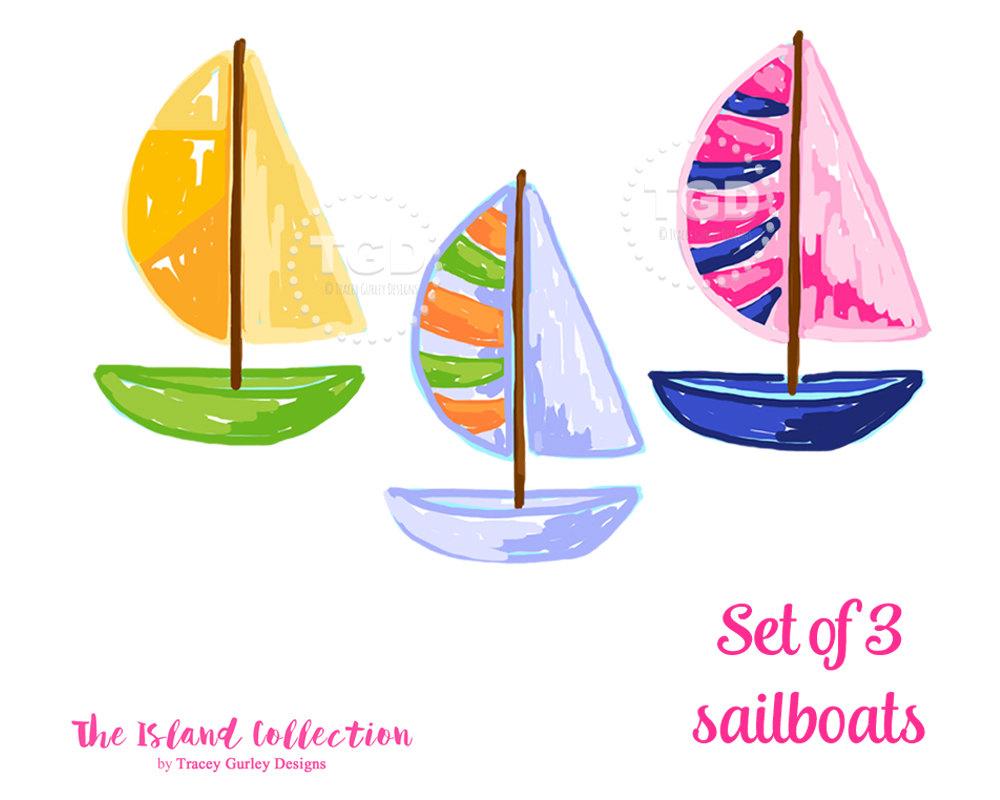 Sailboat card.