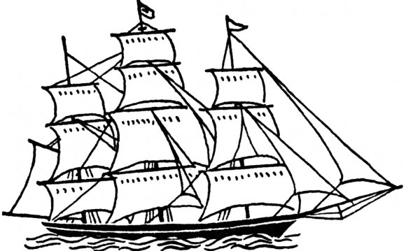 Sailing ship Clipart :: Sailing Regattas.