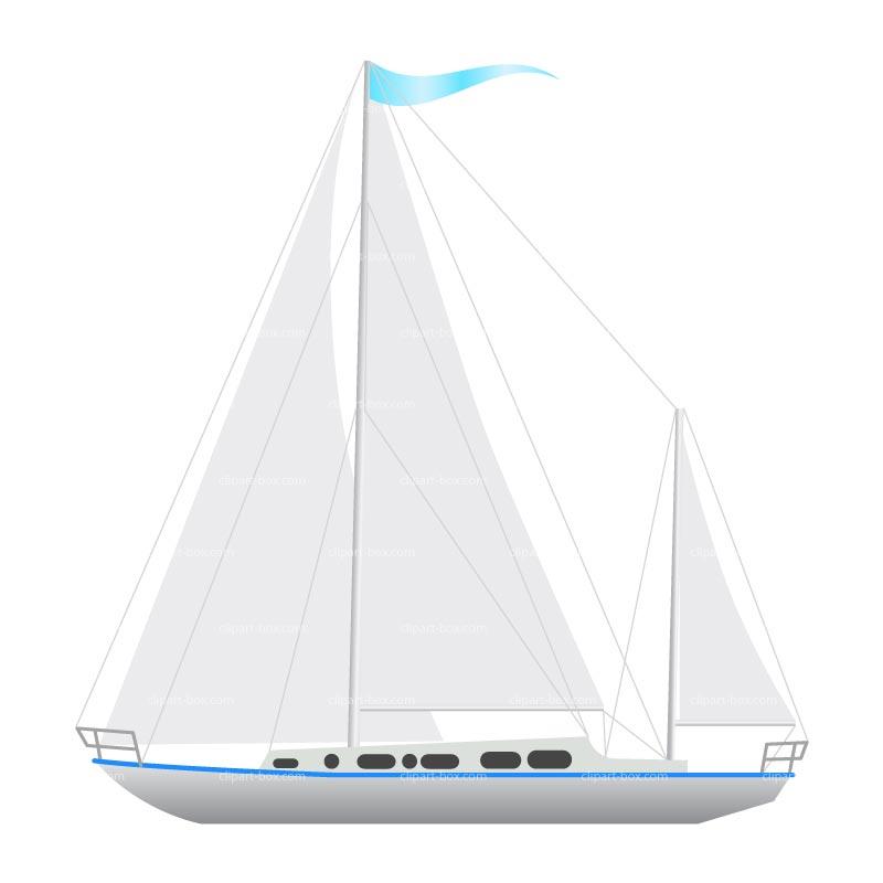 yacht clipart - photo #8