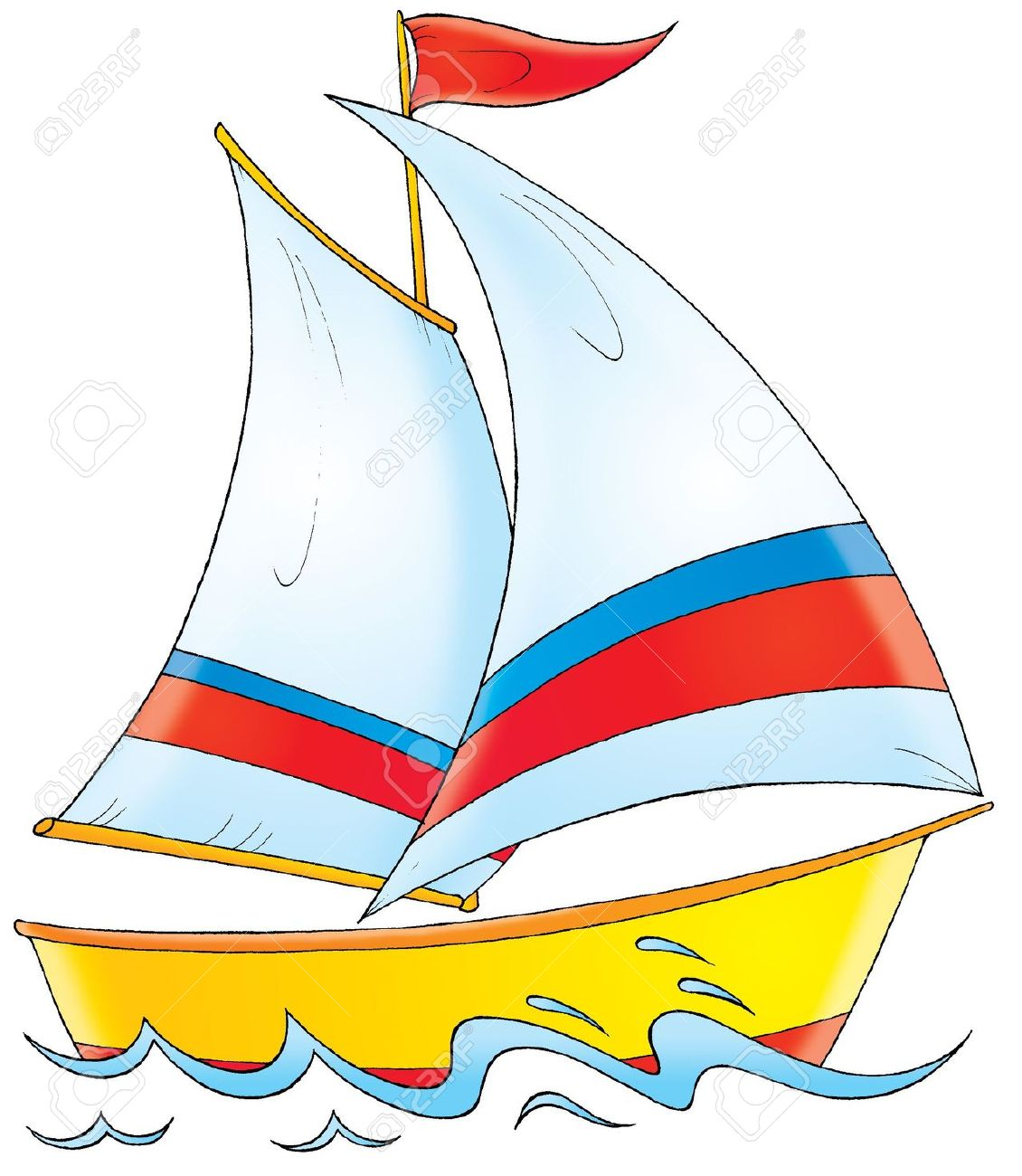 Yacht clipart - Clipground