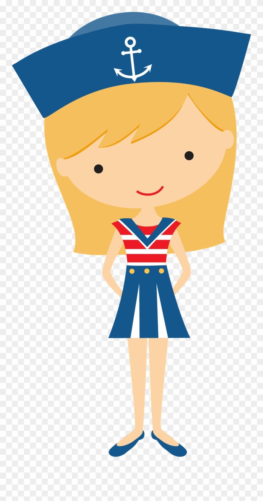 Sailor Girl Clip Art.