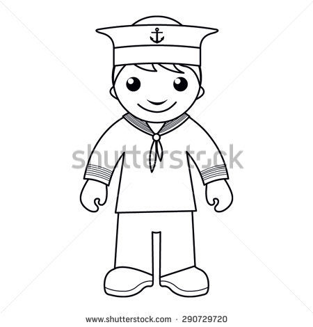 Sailor Images Clip Art Stock Images, Royalty.