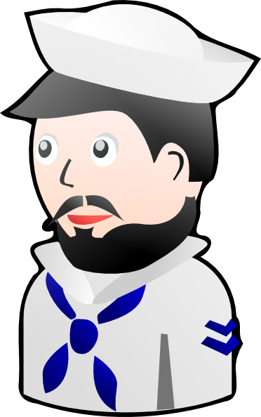 Toy Sailor clip art.
