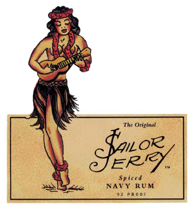 Sailor jerry spiced rum Logos.
