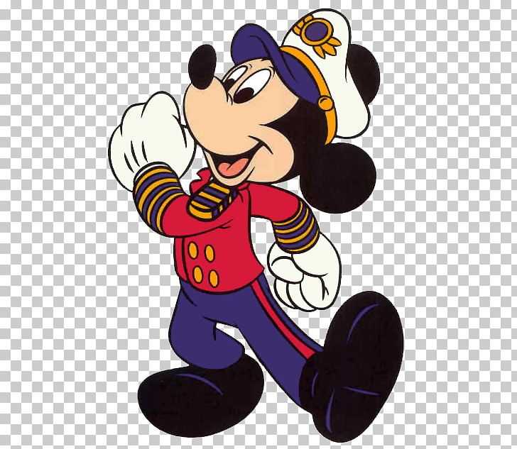 Mickey Mouse Minnie Mouse Disney Cruise Line Sailor PNG.