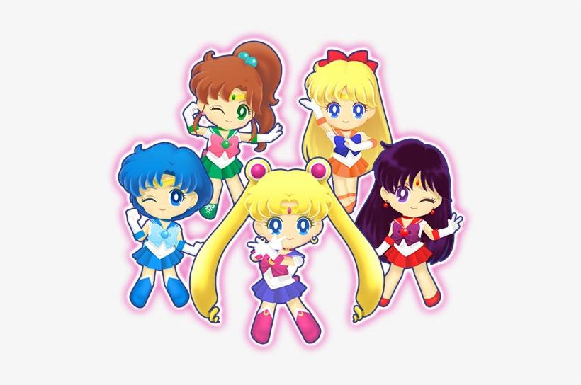Sailor Moon Drops Characters.