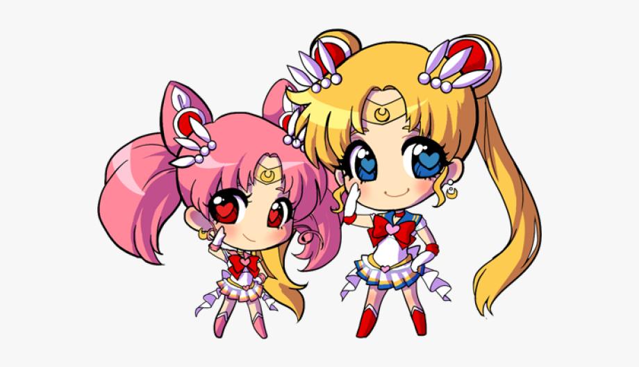 Sailor Moon Clipart Kawaii Chibi.
