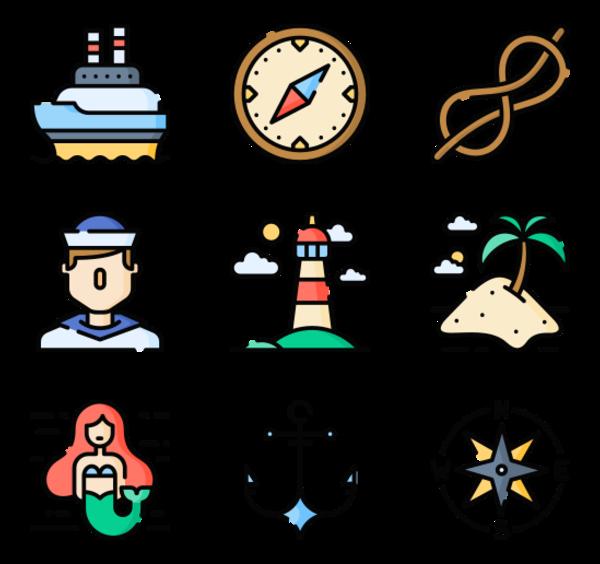 42 sailor icon packs.