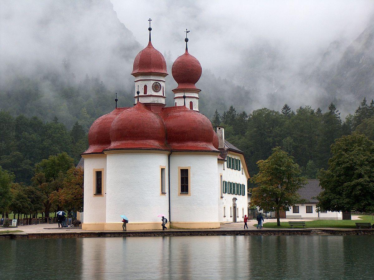St. Bartholomew's Church, Berchtesgaden.