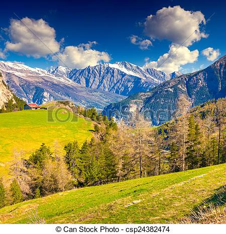 Picture of View from the Col de la Bonette pass, Saint Dalmas le.