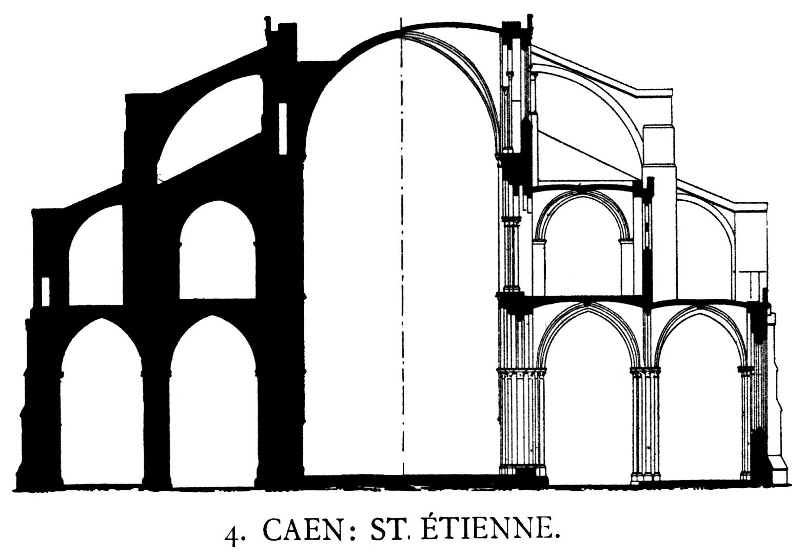 Medieval Caen.