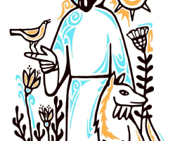 St francis clipart 2 » Clipart Station.