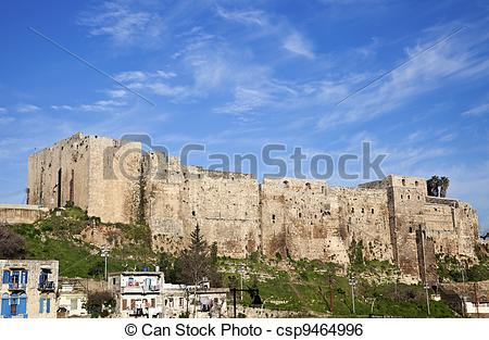 Stock Image of Citadel of Raymond de Saint.