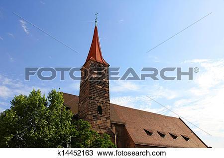 Stock Photo of St. Jakob Church in Nuremberg k14452163.